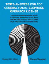 Tests-Answers for FCC General Radiotelephone Operator License